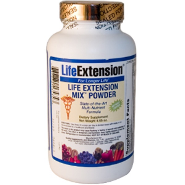 Life Extension, Mix Powder, Without Copper, 4.65 oz (Discontinued Item)