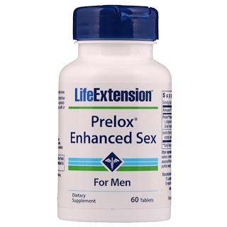 Life Extension, Prelox, Natural Sex For Men, 60 Tablets