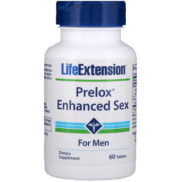 Life Extension, Prelox Enhanced Sex, For Men, 60 Tablets