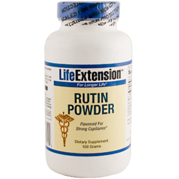 Life Extension, Rutin Powder, 100 g (Discontinued Item)