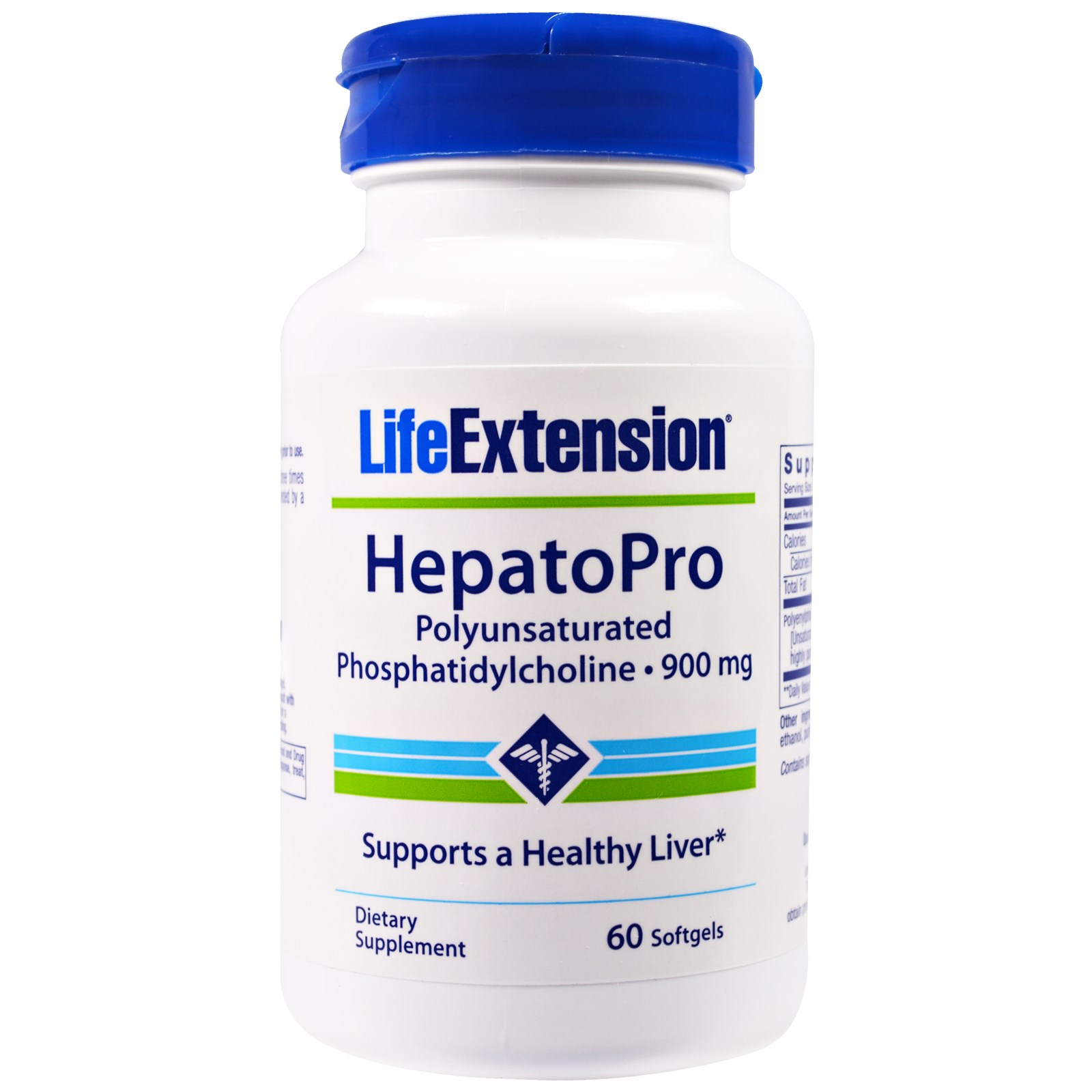 Life Extension, Гепатопро, 900 мг, 60 капсул