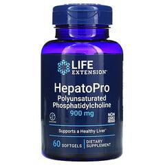 Life Extension, HepatoPro 肝臟保護劑,900 毫克,60 粒軟凝膠