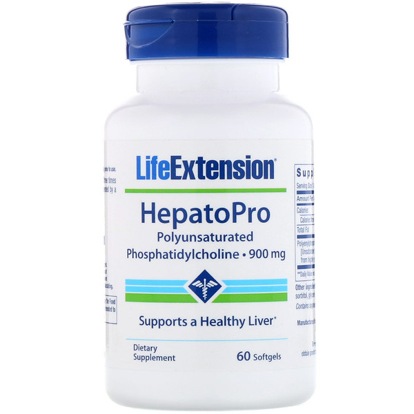 Life Extension, HepatoPro, 900 mg, 60 Softgels