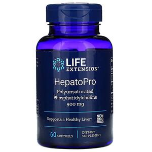 Лайф Экстэншн, HepatoPro, 900 mg, 60 Softgels отзывы