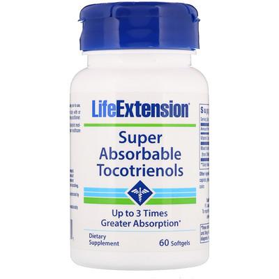 Супер-поглощаемые токотриенолы, 60 капсул  - купить со скидкой