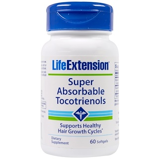Life Extension, Super-Absorbable Tocotrienols, 60 Softgels