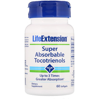 Life Extension, Super Absorbable Tocotrienols, 60 Softgels