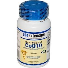 Life Extension, Super Ubiquinol CoQ10 with Enhanced Mitochondrial Support, 50 mg, 100 Softgels