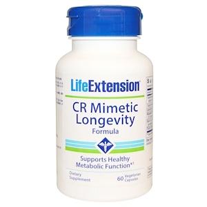 Лайф Экстэншн, CR Mimetic Longevity Formula, 60 Veggie Caps отзывы