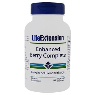 Life Extension, Berry Complete Mejorado, con Açaí, 60 Cápsulas Vegetales