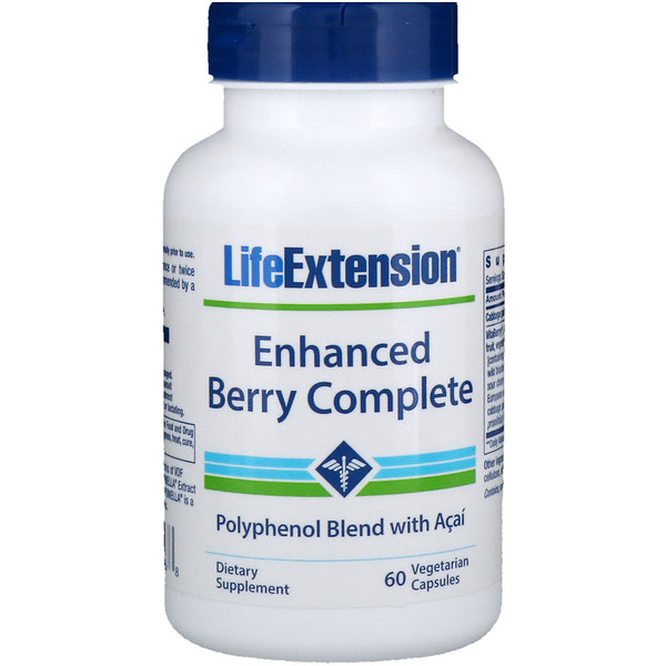 Life Extension, Enhanced Berry Complete, 60 Veggie Caps (Discontinued Item)