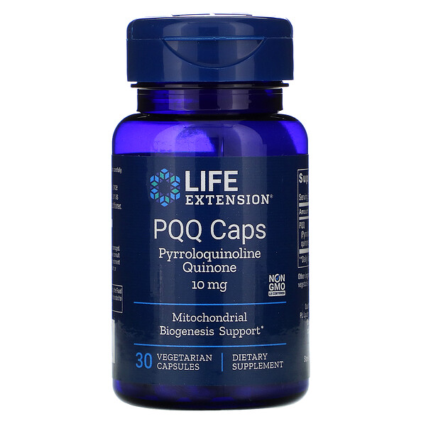 PQQ Caps, 10 mg, 30 Vegetarian Capsules