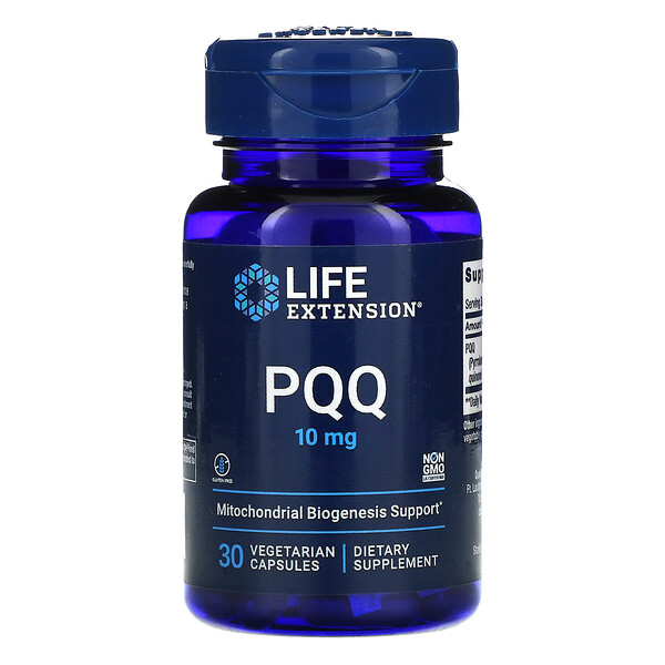 Life Extension, PQQ Caps, 10 mg, 30 Vegetarian Capsules