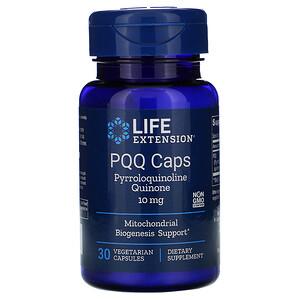 Лайф Экстэншн, PQQ Caps, 10 mg, 30 Vegetarian Capsules отзывы