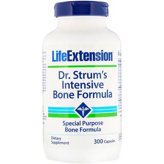 Life Extension, Dr. Strum's Intensive Bone Formula, 300 Capsules