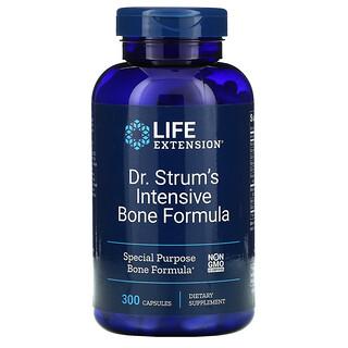 Life Extension, Доктор Strum's Intensive Bone Formula, средство для здоровья костей, 300капсул