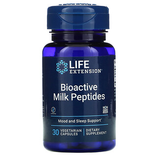 Life Extension, 生物活性牛奶膠原蛋白多肽膠囊,30 粒素食膠囊