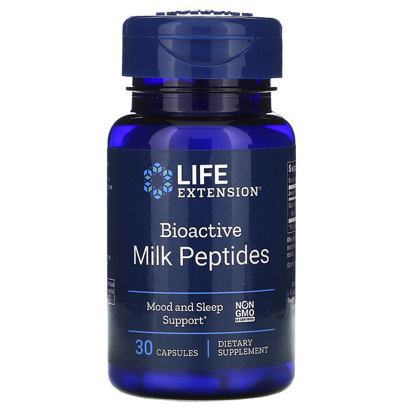 Bioactive Milk Peptides, 30 Capsules