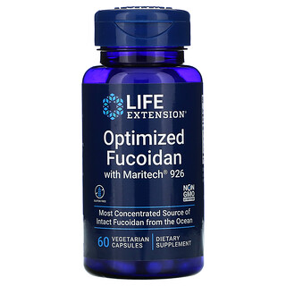 Life Extension, Optimized Fucoidan with Maritech 926, 60 Vegetarian Capsules