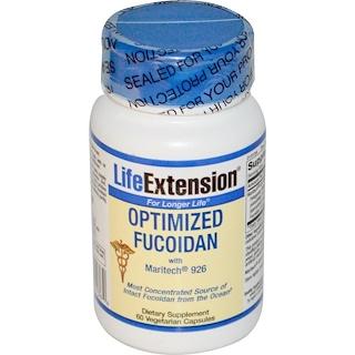 Life Extension, 最適化フコイダン、60ベジキャップ