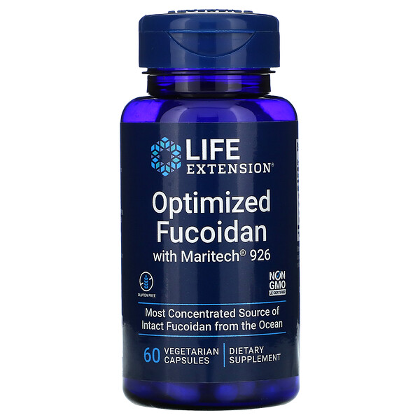 Optimized Fucoidan with Maritech 926, 60 Vegetarian Capsules