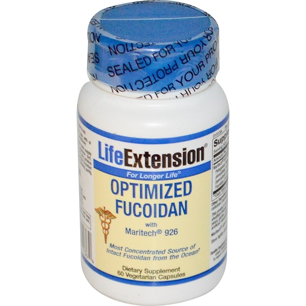Life Extension, Optimized Fucoidan, 60 Veggie Caps