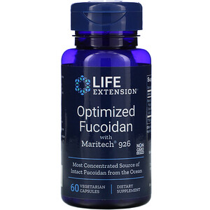 Лайф Экстэншн, Optimized Fucoidan with Maritech 926, 60 Vegetarian Capsules отзывы покупателей
