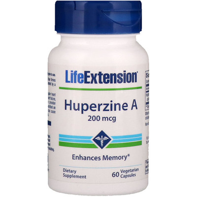Купить Huperzine A, 200 mcg, 60 Vegetarian Capsules