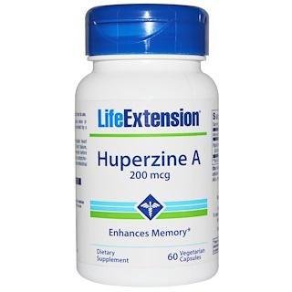Life Extension, Huperzine A, 200 mcg, 60 Veggie Caps