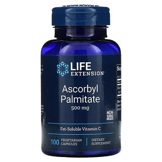 Life Extension, Ascorbyl Palmitate, Ascorbylpalmitat, 500mg, 100pflanzliche Kapseln