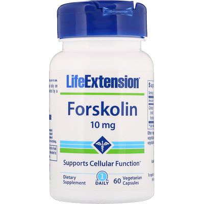 Фото - Forskolin, 10 mg, 60 Vegetarian Capsules estro freedom 60 vegetarian capsules