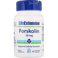 Life Extension, Forskolin, 10 mg, 60 Vegetarian Capsules