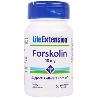 Life Extension, Forskolin, 10 mg, 60 Veggie Caps