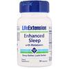 Life Extension, Enhanced Sleep with Melatonin, 30 Capsules