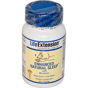 Life Extension, Улучшенная формула естественного сна, 30 капсул