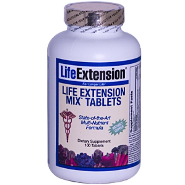 Life Extension, Mix Tablets without Copper, 100 Tablets (Discontinued Item)