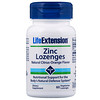 Life Extension, Zinc Lozenges, Natural Citrus-Orange Flavor, 60 Vegetarian Lozenges