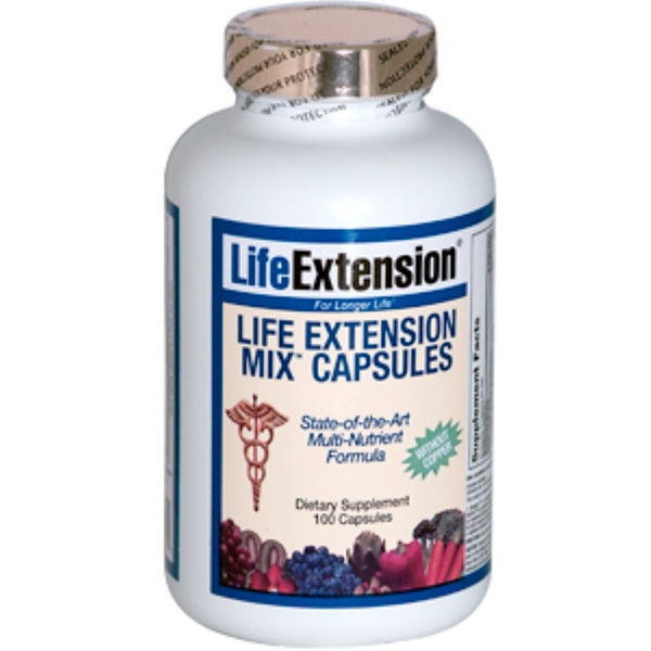 Life Extension, Mix Capsules without Copper, 100 Capsules (Discontinued Item)
