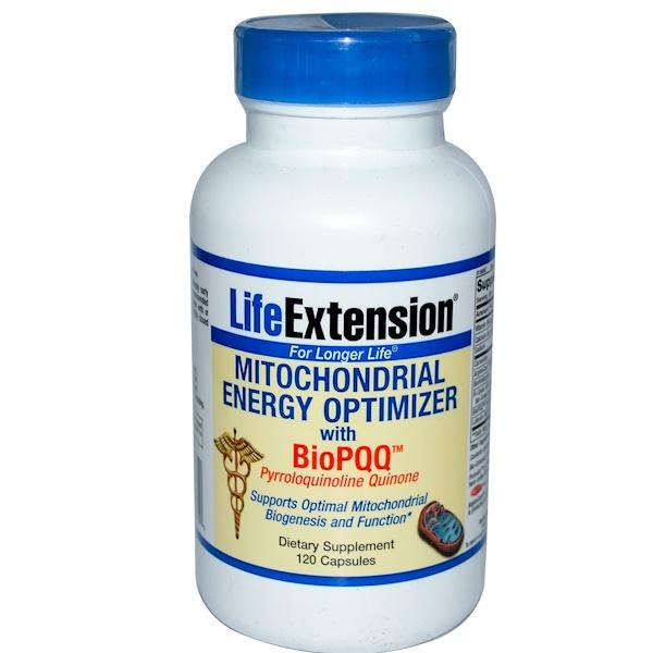 Life Extension, Митохондриальный оптимизатор энергии с BioPQQ, 120 капсул (Discontinued Item)