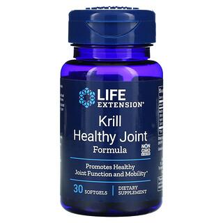 Life Extension, средство для здоровых суставов из криля, 30мягких таблеток