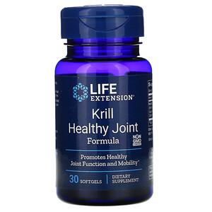 Лайф Экстэншн, Krill Healthy Joint Formula, 30 Softgels отзывы