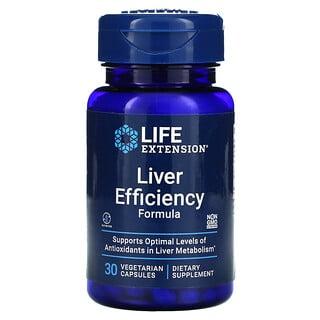 Life Extension, Fórmula para Eficiência do Fígado, 30 Cápsulas Vegetais