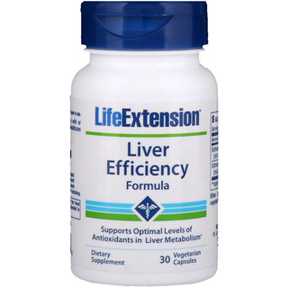Life Extension, Liver Efficiency Formula, 30 Vegetarian Capsules