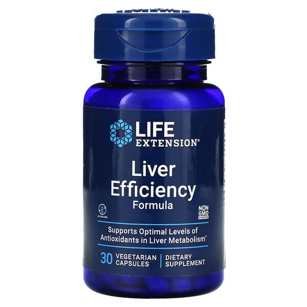 Liver Efficiency Formula, 30 Vegetarian Capsules