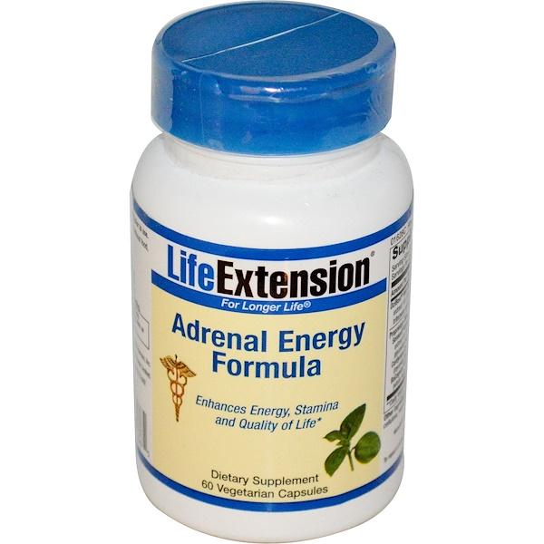 Life Extension, Состав для повышения энергии, 60 капсул на растительной основе