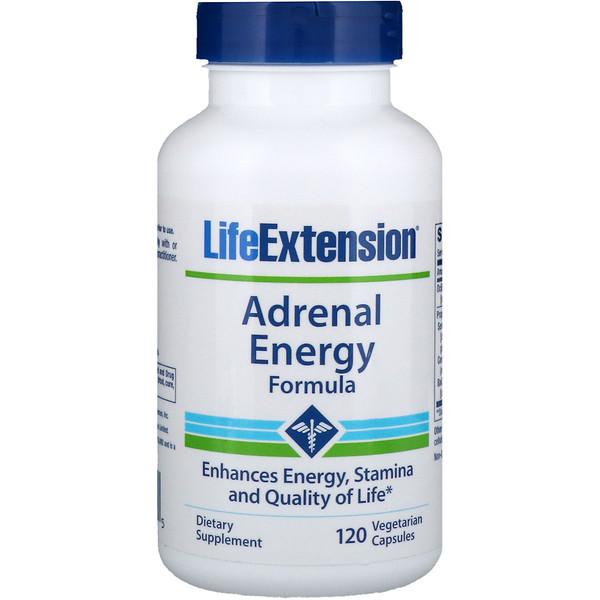 Life Extension, Adrenal Energy Formula, 120 Veggie Caps (Discontinued Item)