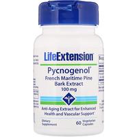Пикногенол, экстракт коры французской приморской сосны, 100 мг, 60 вегетарианских капсул - фото