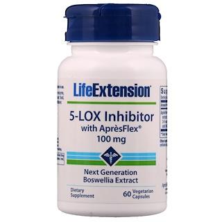 Life Extension, Inhibidor 5-Lox, con ApresFlex, 100 mg, 60 Cápsulas Veganas