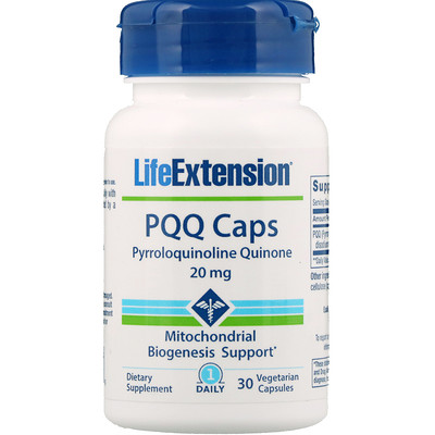 Купить PQQ Caps, 20 мг, 30 вегетарианских капсул
