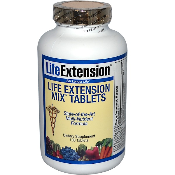 Life Extension, Mix Tablets, 100 Tablets (Discontinued Item)